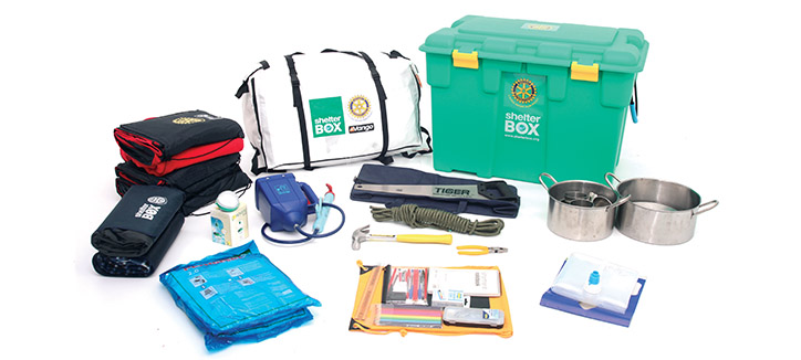 ShelterBox disaster relief charity